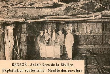 Le musée de l'ardoise à Renazé Renazeb