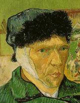 Van gogh l oreille coup e - Autoportrait van gogh oreille coupee ...